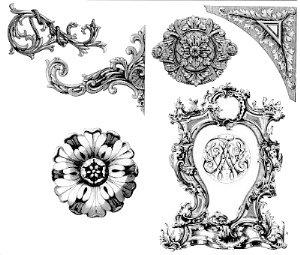 Dover Victorian Ornaments Designs | VICTORIAN DESIGN ...