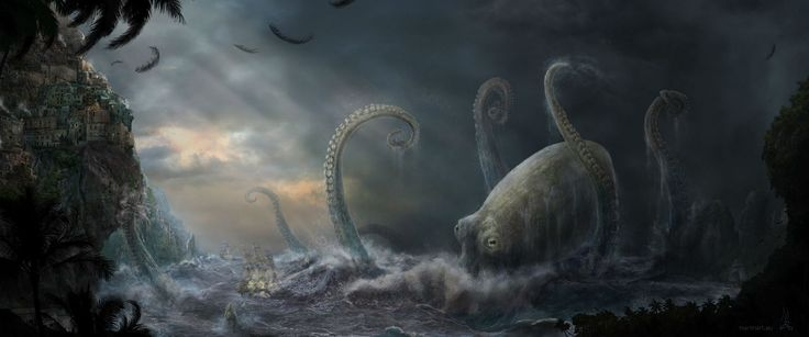 Fantasy Cthulhu  Wallpaper