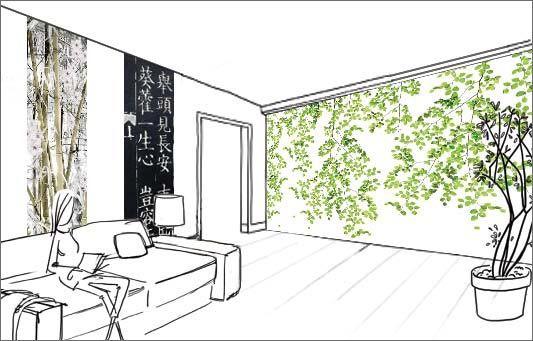 Déco ZEN : idées de décoration murale reposante