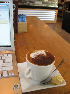 Patagonia is a small chocolate business based in Queenstown New Zealand. It's the only cafe in Queenstown offering free wifi internet. http://restaurantreviewspo.blogspot.co.nz/2011/01/handmade-chocolate-patagonia-queenstown.html