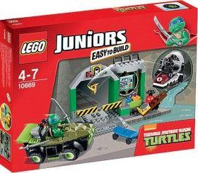 NEW Lego Juniors Teenage Mutant Ninja Turtles 10669