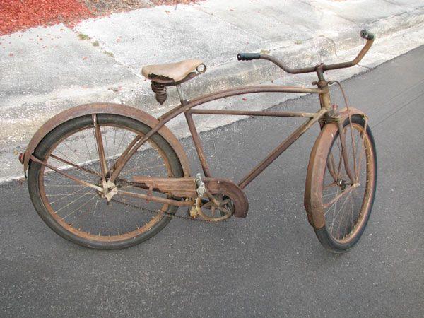 Chubby rat rod bike — photo 12