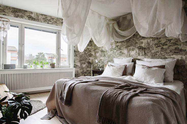 scandinavian interior bedroom