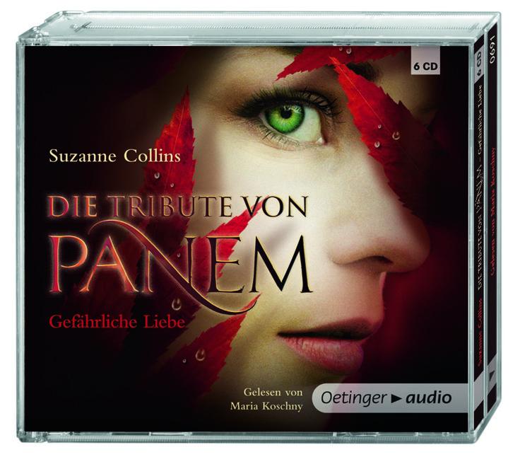 Die Tribute von Panem 2 - Gefährliche Liebe (6 CD) von Suzanne Collins