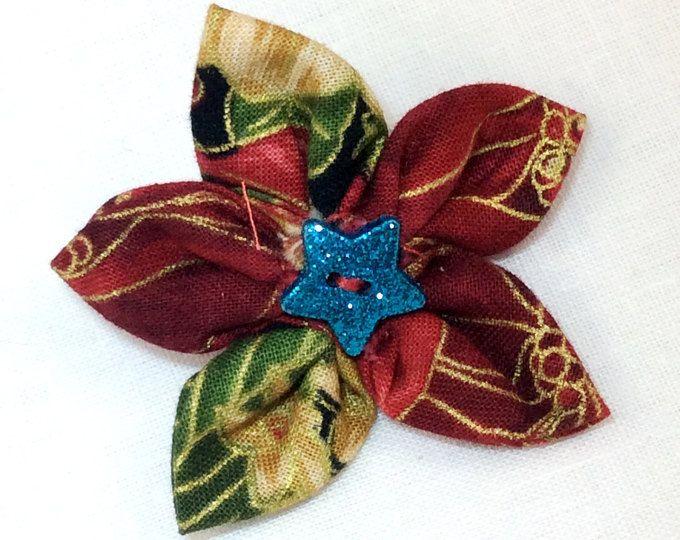 Handmade Hair Clip with Sparkle Star  - Annie Lane Boutique