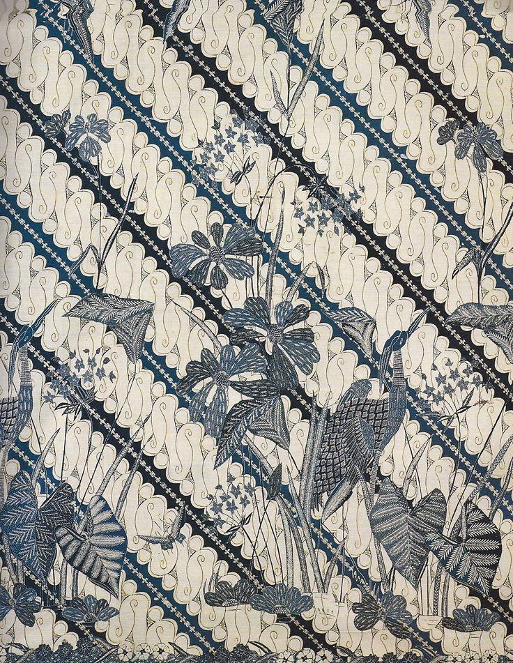 Parang Rusak design- of storks and reeds