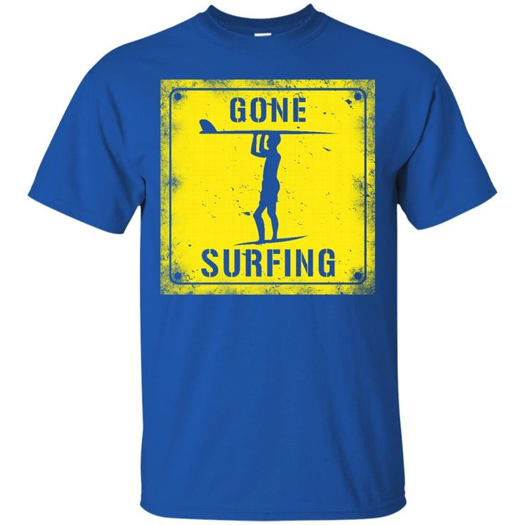 Surfing T-shirts Gone Surfing Hoodies Sweatshirts