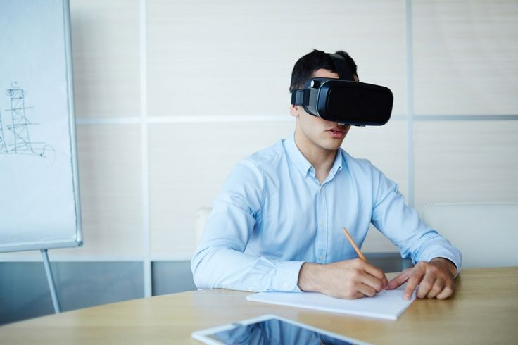 How VR Will Change the Way We Work—It's highly possible that VR integration will drastically alter the way you do your job; Details>