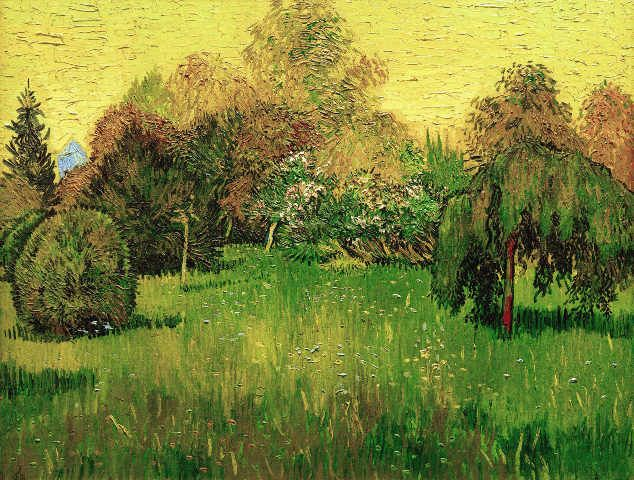 Vincent Van Gogh - Der Dichtergarten - Kunstreproduktionen, individuelle Kunstkarten