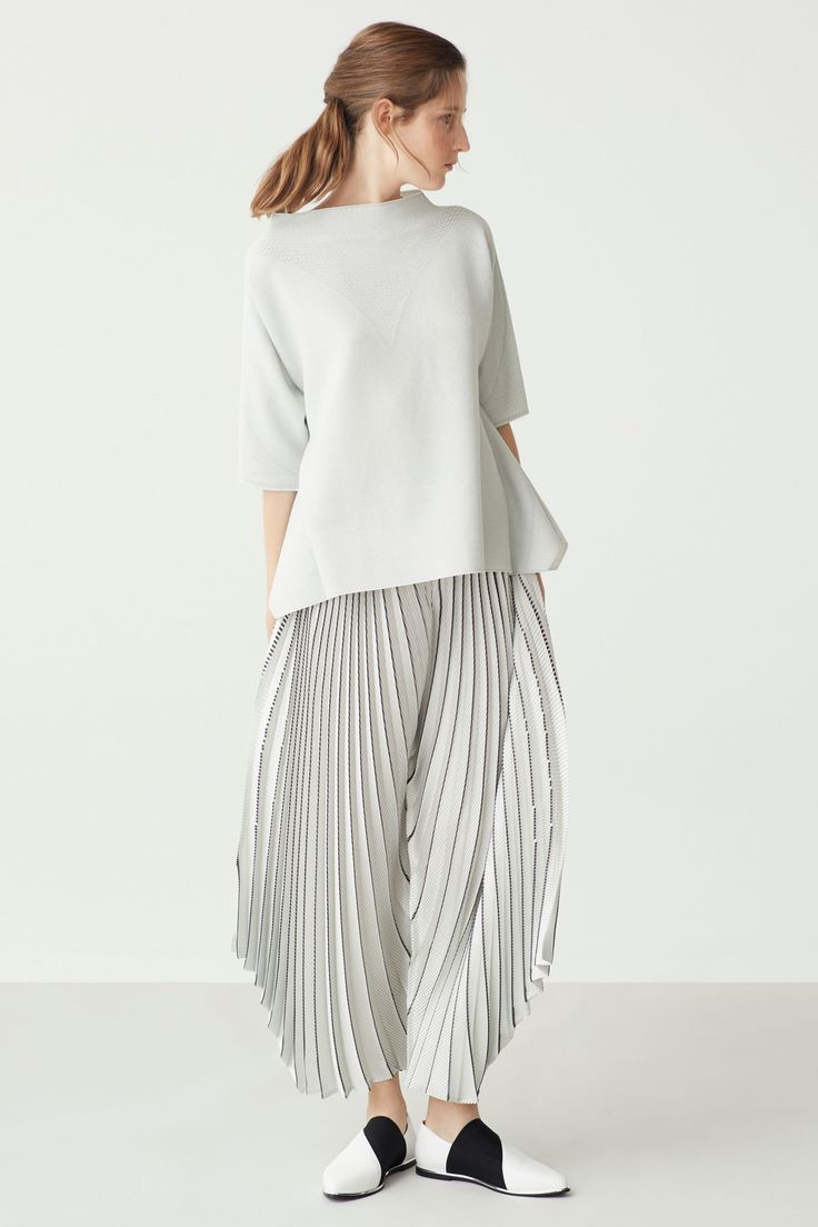 2063 Best Clothing Images On Pinterest Fashion Details Jackets Even Like Guardian Stripe T Shirt Off White Putih S Issey Miyake Resort 2018 Show