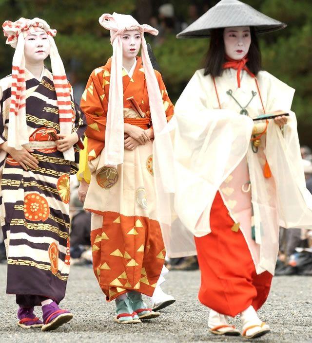 平安神宮 時代祭 江戸時代婦人列 出雲阿国 jidaimatsuri