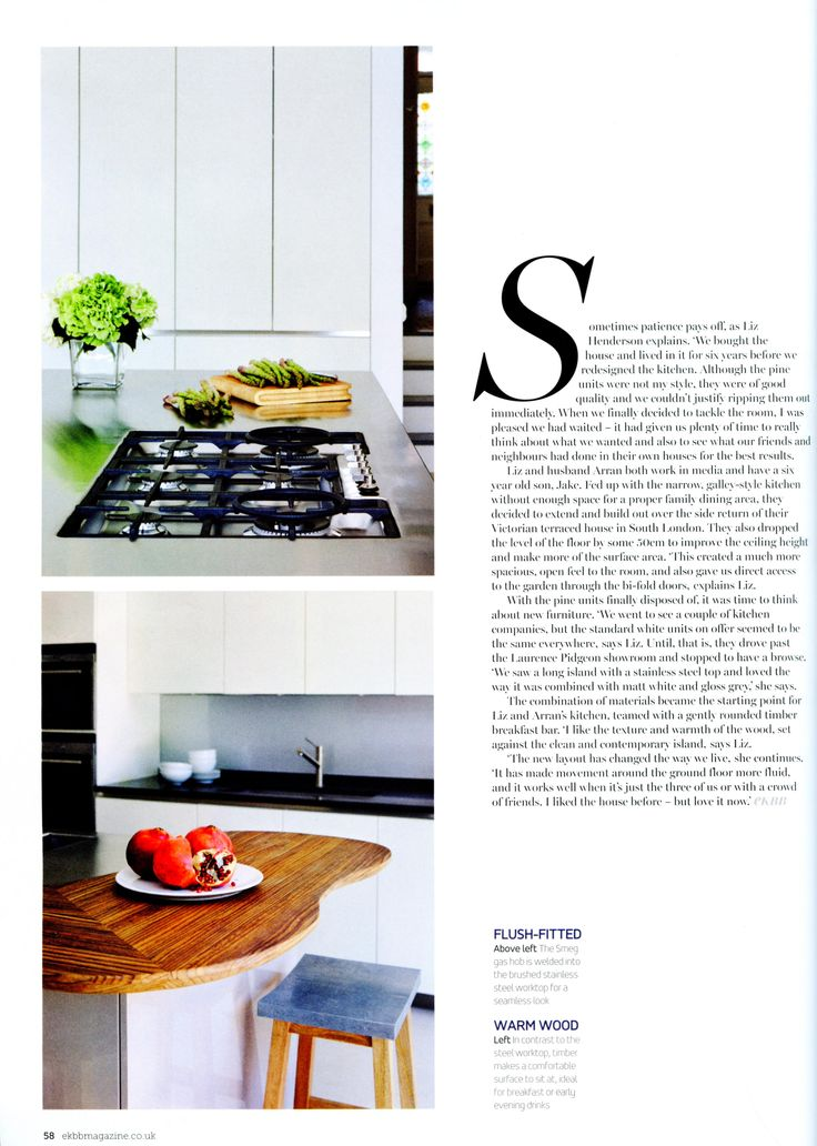 A Feature On A Sleek And Beautiful Kitchen From Laurence Pidgeon