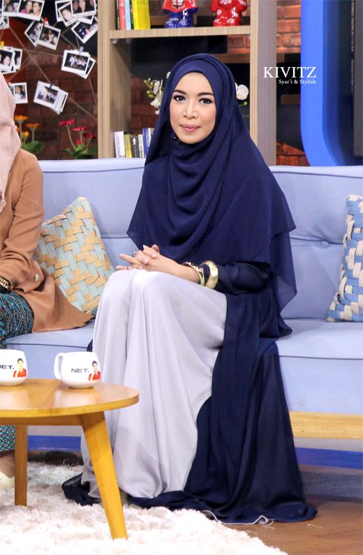 KIVITZ: Hijab Talkshow on Sarah Sechan NET TV