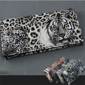 hoge kwaliteit mode portefeuilles vrouwen/stijlvolle dier tijger gedrukt vrouwen portefeuilles/casual dagelijks vrouwen portemonnees $3.89 (free shipping)