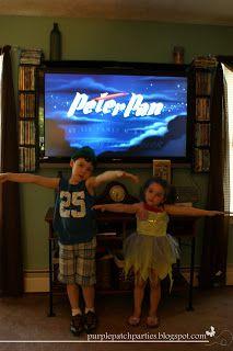 Peter Pan movie night!