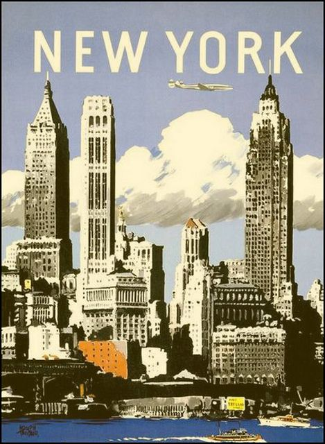 25 best ideas about vintage new york on pinterest new york poster new york skyline and new. Black Bedroom Furniture Sets. Home Design Ideas