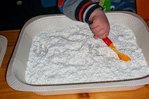 Wunderbare Kinderwelt: Wenn kein Schnee kommt, machen wir ihn selbst
