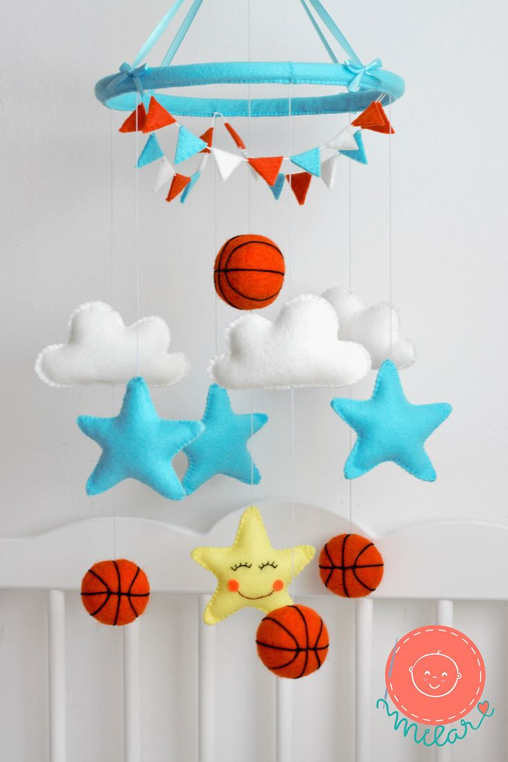 A personal favorite from my Etsy shop https://www.etsy.com/listing/522526449/baby-mobile-cloud-star-mobile-3d