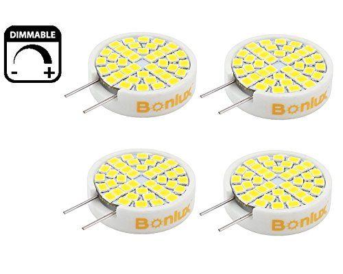 Bonlux 3 Watt Dimmable G8 LED Light Bulb   Ceramic G8 Bi Pin JCD Type