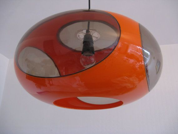 Vintage Luigi Colani UFO Space Age Lamp 1970s