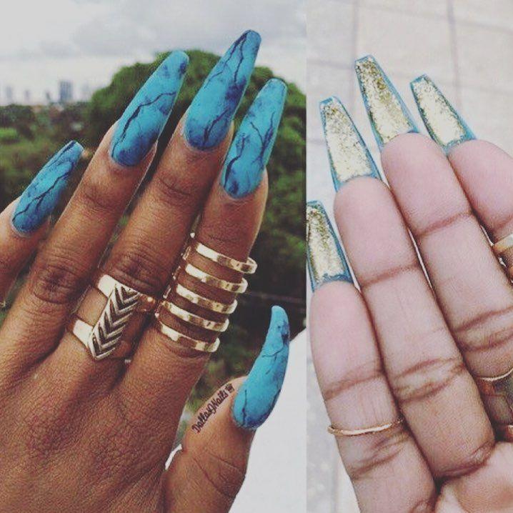 Aesthetic Artsy Acrylic Nails