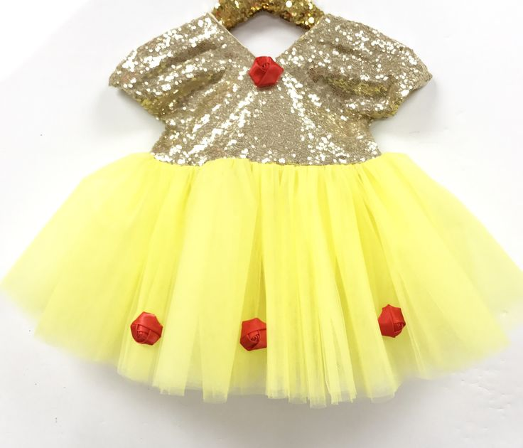 Royal Princess Sparkle Belle Tutu Dress