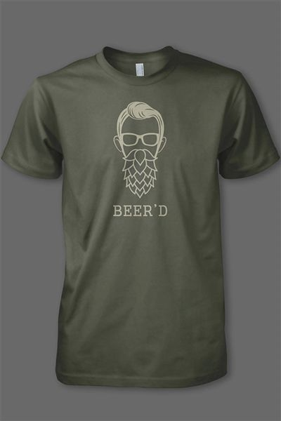 Created for the 2016 Bearded Brewfest we're excited to bring to all of you this original designed for those craft beer lovers who also love their beards ;)