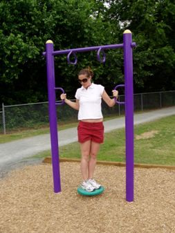 Outdoor Fitness Equipment Hip Twister