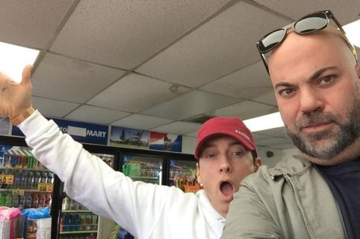 It's not often that you see Eminem in public. Even rarer that you see Eminem and Paul Rosenberg, his longtime manager, with him at a local 7 Eleven. But that's exactly what happened on Tuesday with an Instagram post from Rosenberg's account hashtagged #7ElevenSeries. Before we go deeper down this rabbit hole, let's be clear.