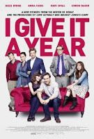 I Give It a Year (2013) HD - Youtube Full Movies: Newlywed couple Nat and Josh are deliriously happy despite their differences, though friends and family aren't convinced that they can last. With their first anniversary approaching and attractive alternatives in the mix, can they last?  IMDB Rating: 5.8 Rate R | 97 mins Genre: Comedy | Romance Director: Dan Mazer Written by: Dan Mazer Stars: Rose Byrne, Rafe Spall, Alex Macqueen