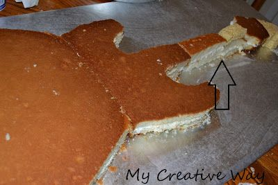 My Creative Way: How to Hand Carve a Guitar Cake