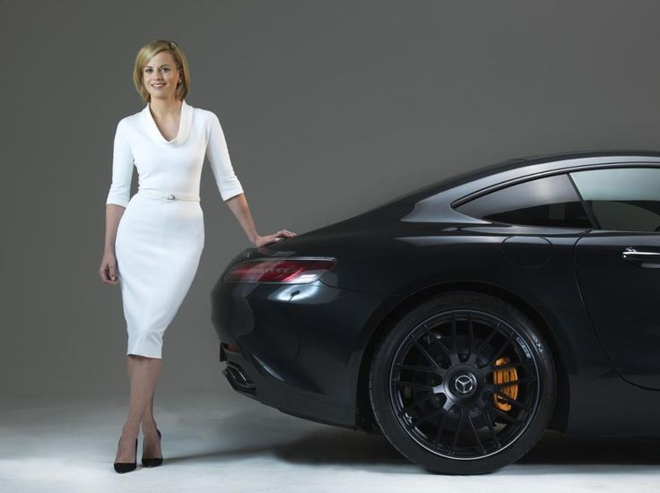 Susie Wolff (Photographed by Neale Haynes in London) Courtesy of nealehaynes.com