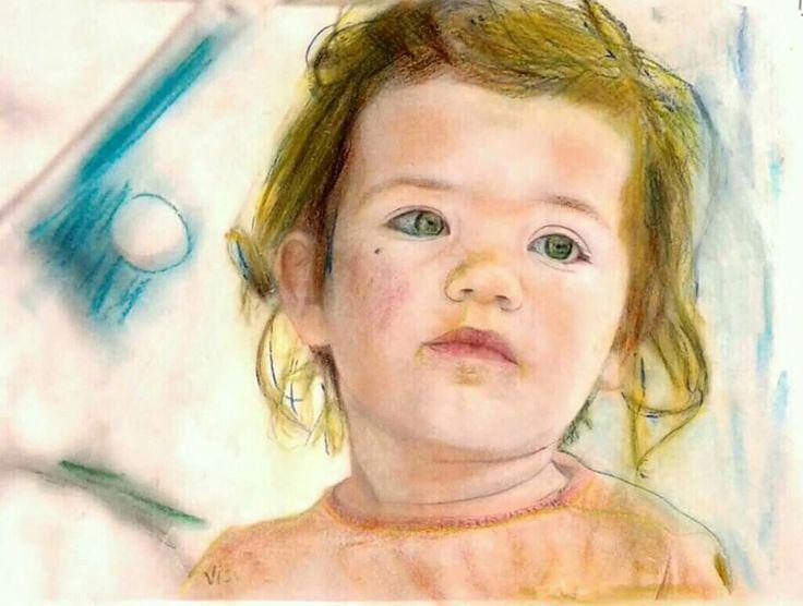 Baby (pastel) - vissarion g