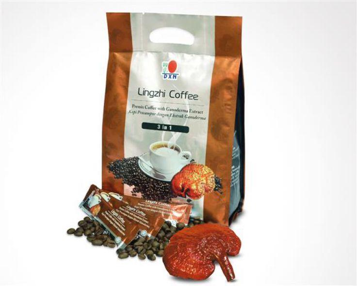 El Café Lingzhi 3 en 1 de DXN es una bebida hecha con los granos de café más finos, extractos de Ganoderma, azúcar y crema no láctea con bajo contenido de grasa. El café esta empaquetado en pequeños y prácticos sobres individuales muy convenientes para el uso diario y una satisfacción instantánea.