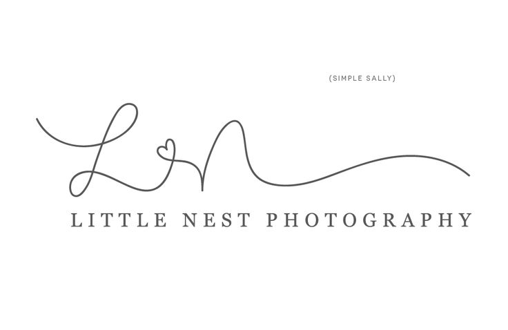 Simple designs for photographers and small businesses. Logos, initials, words, hand lettering.