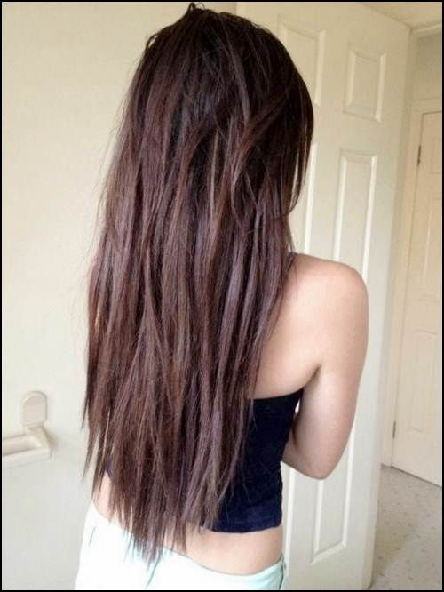 how to cut layers in long hair diy