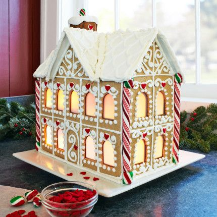 15 best winter gingerbread houses images on pinterest little gingerhaus ultimate gingerbread house kit from sur la table solutioingenieria Choice Image