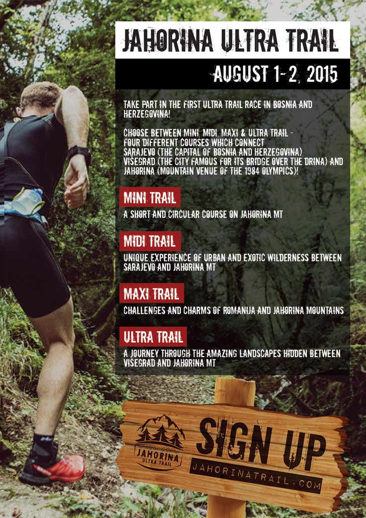 Sign up for the first bosnian ultra trail race.