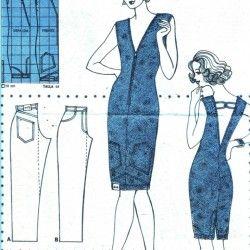 Jeans Dress - DIY