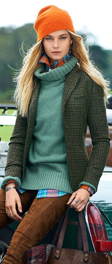 Ralph Lauren women's fall fashion