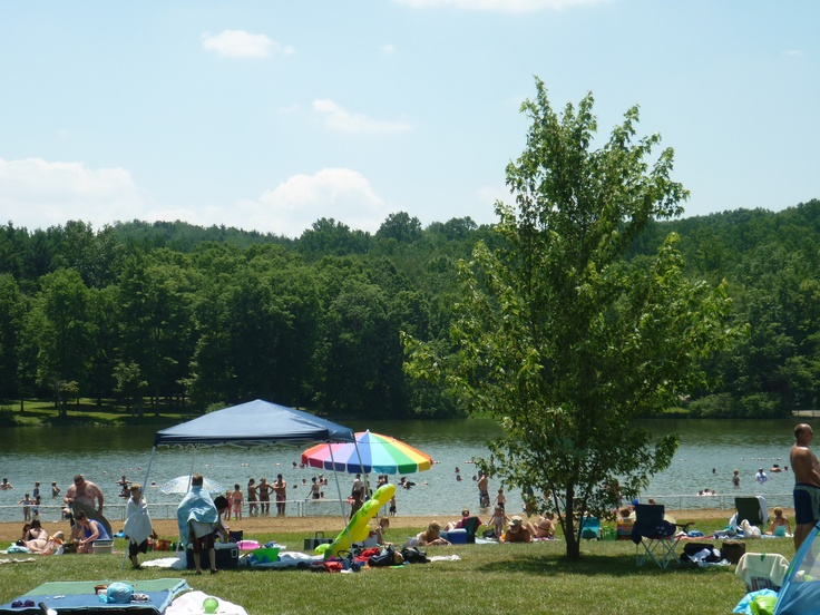 Swimming at Keystone State Park  Discover Derry Area  Amish country Summer cabins Beautiful