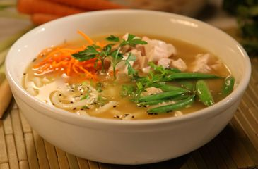 Udon Noodle Bowl  From: Taste of Asia  Recipe courtesy of Cristina Ferrare