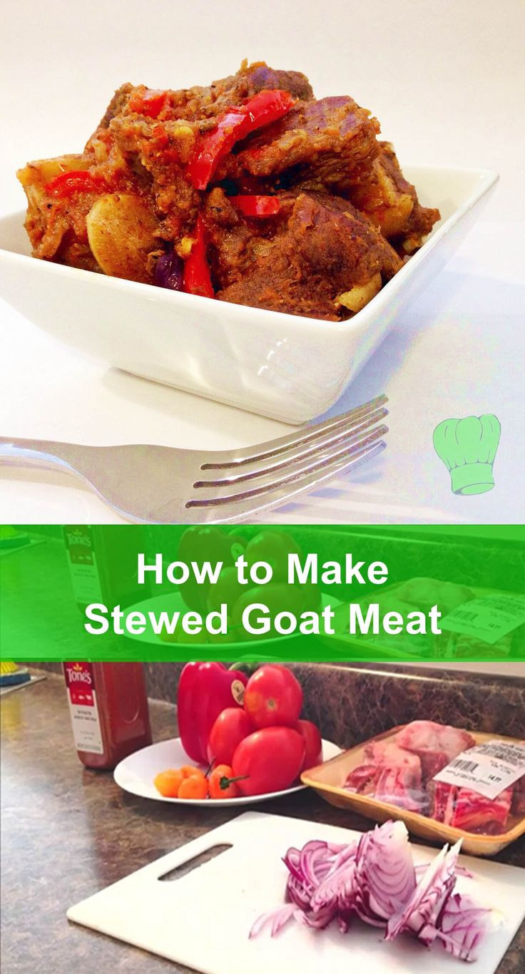 Stewed goat meat is one of those special recipes that I only whip out on special occasions for special people (like my wife :). This recipe is foolproof and downright delicious