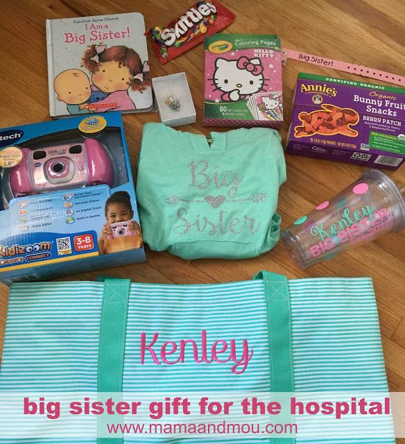 Big Sister Gift for the hospital | www.mamaandmou.com