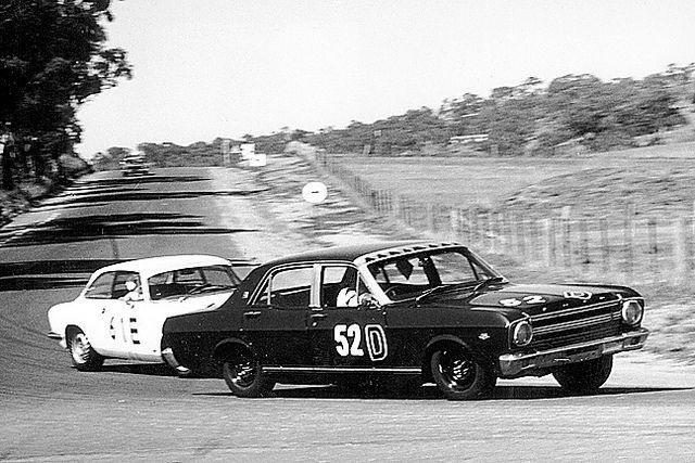 BATHURST 1967 WINNERS - FRED GIBSON / HARRY FIRTH
