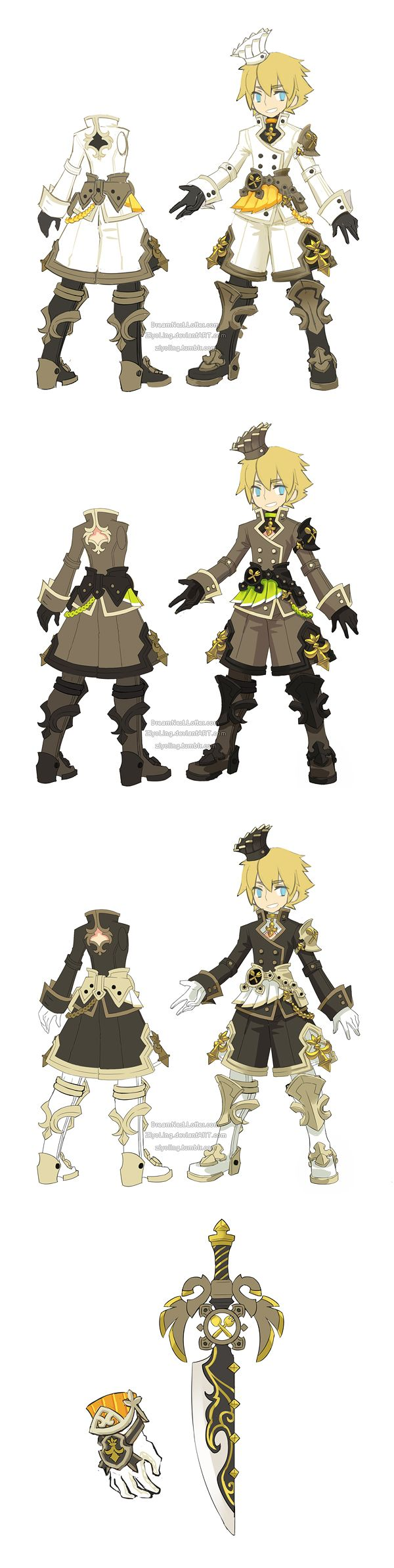 Google themes dragon nest - Costume Weapon Designs Of A Restaurant Theme For Dragon Nest Warrior In The Other Cl Dragonnest_restaurant Costume Warrior