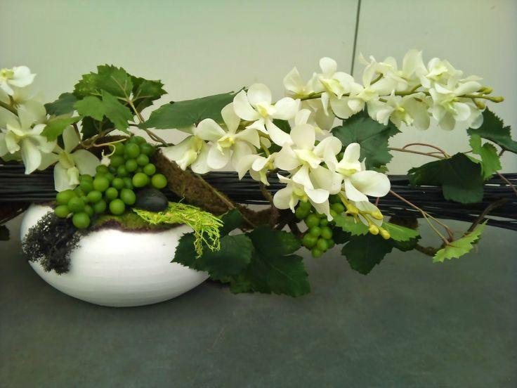 Plante artificielle-fleur décorative haut de gamme-Bordeaux-fleuriste ...