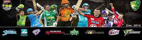 Astrology Predictions for KFC Big Bash T20 Cricket League matches played between 18 december 2014 - 28 january 2015 in Australia