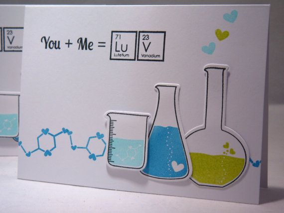 I Love You Card Geeky Anniversary Card Geek Card by apaperaffaire, $3.75