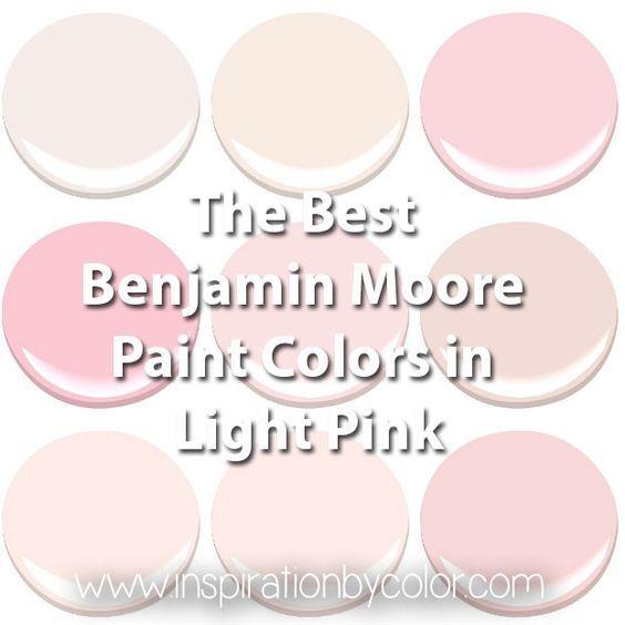 25 best ideas about light pink walls on pinterest light - Best soft pink paint color ...